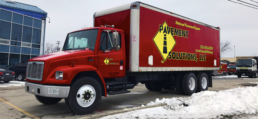 CDL Truck Driver position job openings at Pavement Solutions, LLC.